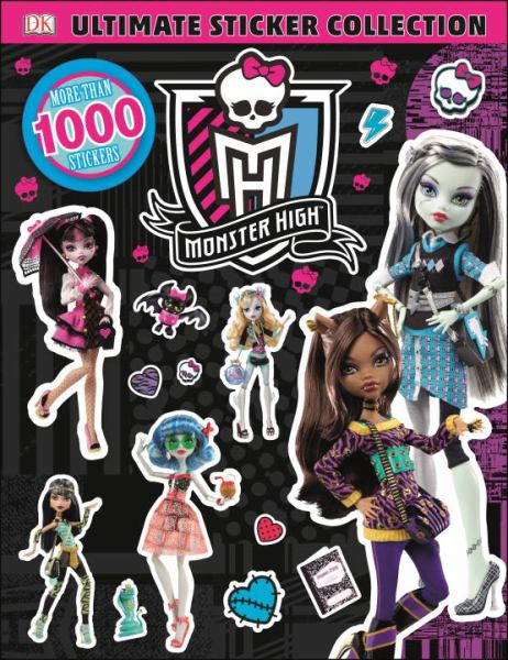 Ultimate Sticker Collection: Monster High (Ultimate Sticker Collections)