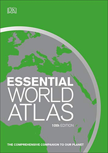 Essential World Atlas (DK Essential World Atlas, 10th Edition)