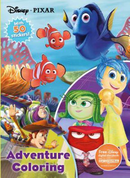 Adventure Coloring (Disney Pixar Coloring Book)