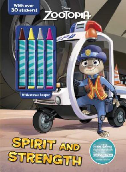 Spirit and Strength Coloring Book with Crayons (Disney Zootopia)