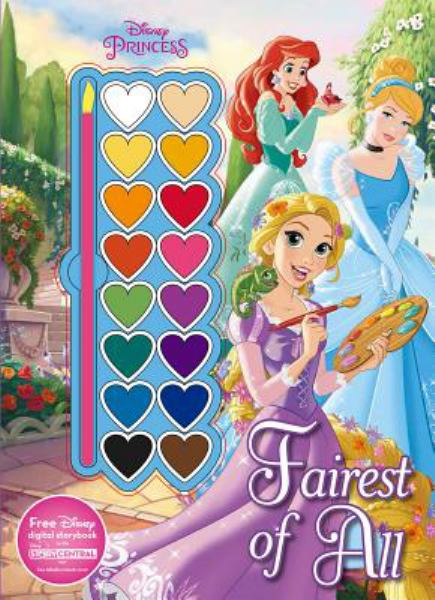 Fairest of All Paint Palette Book (Disney Princess)