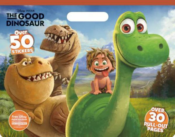 The Good Dinosaur (Disney Pixar Floor Coloring Pad)