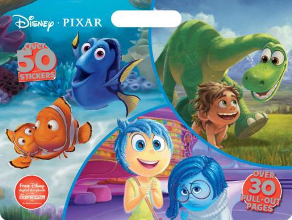 Disney Pixar  (Floor Coloring Pad)