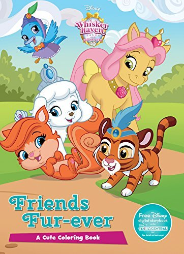 Friends Fur-ever Coloring Book (Whisker Haven Tales and the Palace Pets)