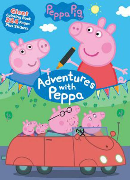 Adventures With Peppa Giant Coloring Book (Peppa Pig)