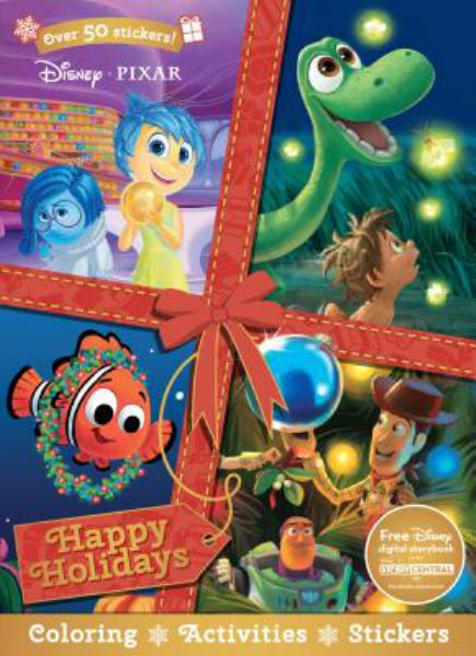 Happy Holidays Coloring & Activity Book (Disney/Pixar)