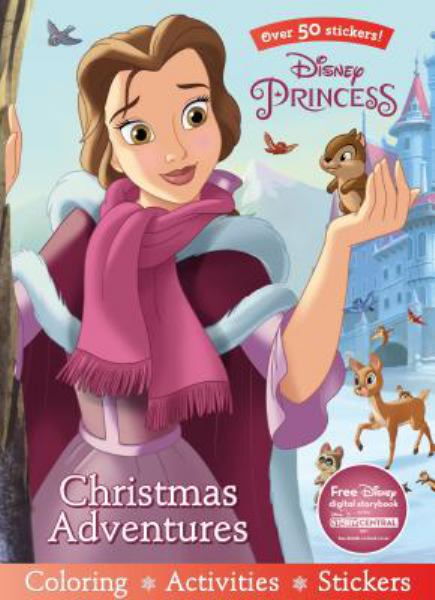 Christmas Adventures Coloring & Activity Book (Disney Princess)