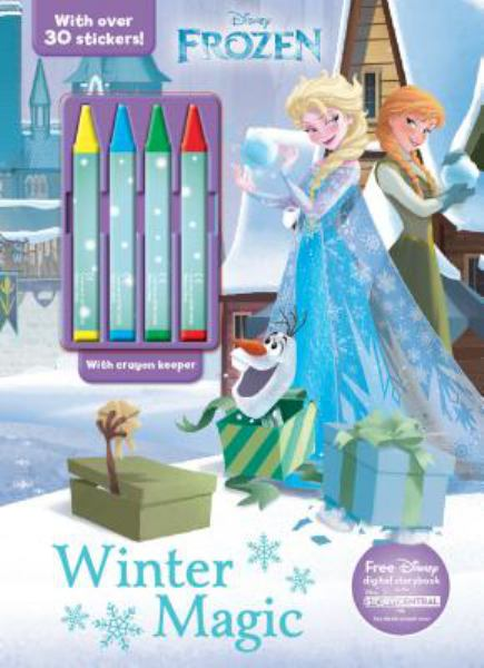 Winter Magic (Disney Frozen, Includes 4 Crayons)