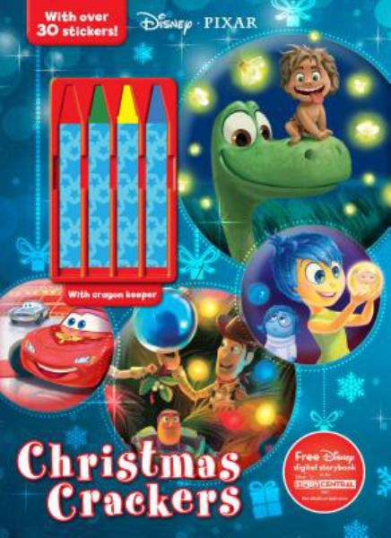 Christmas Crackers (Disney Pixar, Includes 4 Crayons)