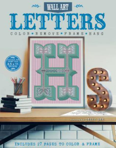 Letters: Color, Remove, Frame, Hang (Wall Art)