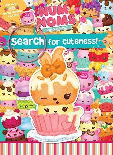 Search for Cuteness! Activity Book (Num Noms)