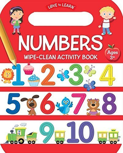 Numbers Wipe-Clean Activity Book (Love to Learn)
