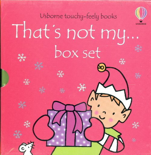 That's Not My...: Christmas Boxed Set (That's Not My Santa.../That's Not My Reindeer.../That's Not My Elf...)
