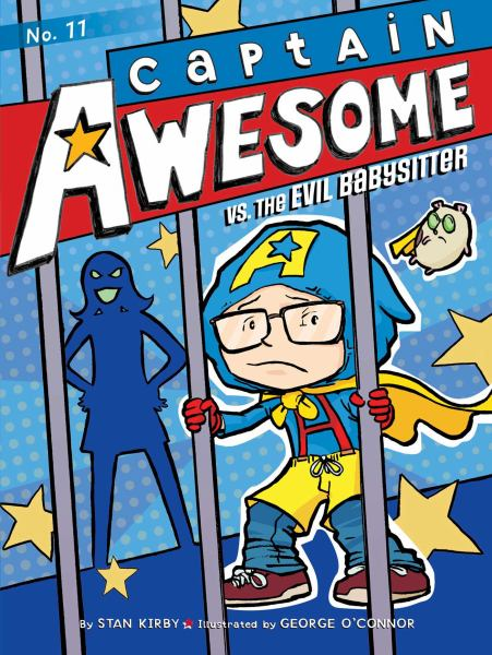 Captain Awesome vs. the Evil Babysitter (Bk. 11)
