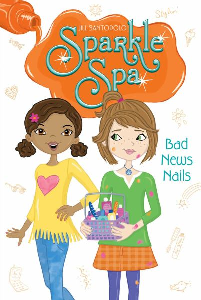 Bad News Nails (Sparkle Spa, Bk. 5)