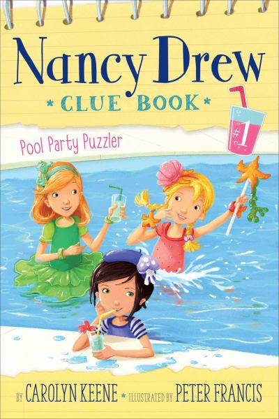Pool Party Puzzler (Nancy Drew Clue Book #1)