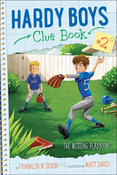The Missing Playbook (Hardy Boys Clue Bk. 2)
