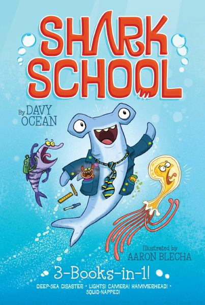 Shark School (Deep-Sea Disaster/Lights! Camera! Hamerhead!/Squid-Napped!)