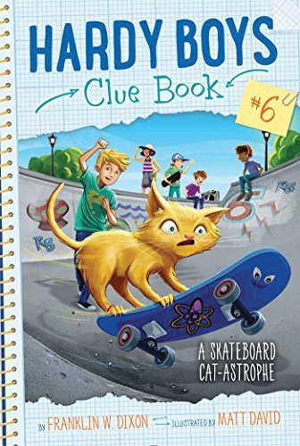 A Skateboard Cat-astrophe (Hardy Boys Clue Bk. 6)
