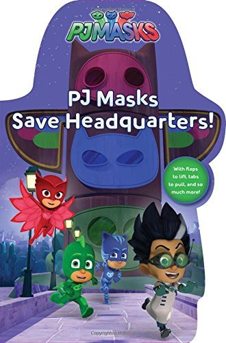 PJ Masks Save Headquarters! (PJ Masks)