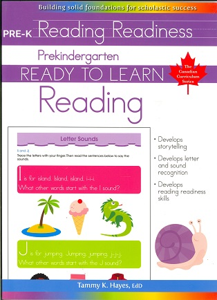 Prekindergarten Reading (Ready to Learn, Canadian Curriculum Series)