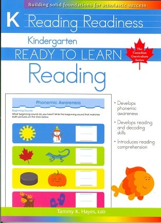 Kindergarten Reading (Ready to Learn, Canadian Curriculum Series)