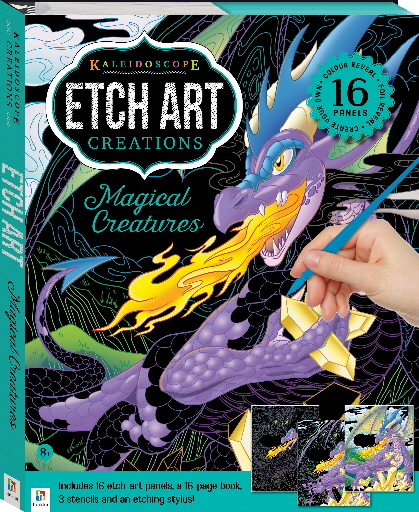 Magical Creatures (Kaleidoscope Etch Art Creations)