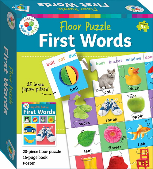 First Words Floor Puzzle (Hinkler Building Blocks)