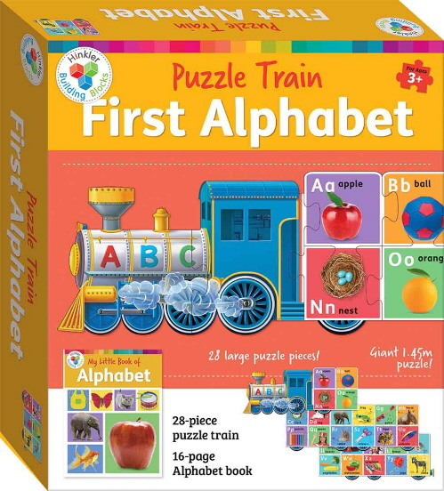 First Alphabet Puzzle Train (Hinkler Building Blocks)