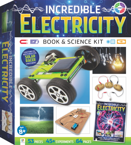 Incredible Electrcity Book & Science Kit (STEM)
