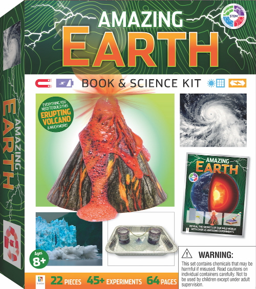 Amazing Earth Book & Science Kit (STEM)