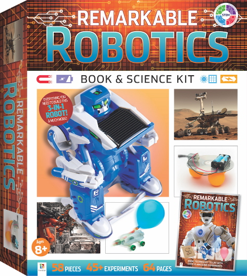 Remarkable Robotics Book & Science Kit (STEM)