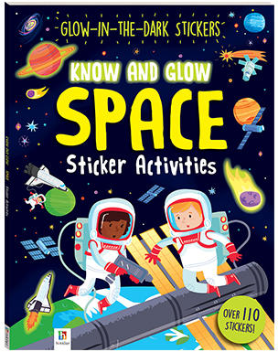 Space Sticker Activities (Know and Glow)