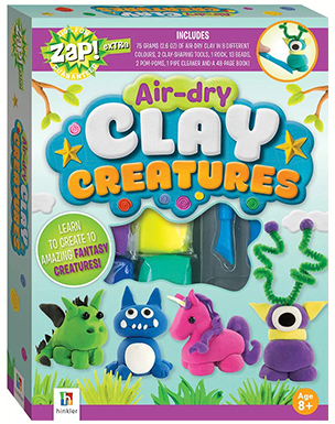 Air-Dry Clay Creatures (Zap! Extra)