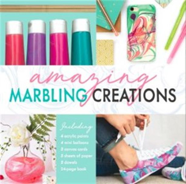 Amazing Marbling Creations