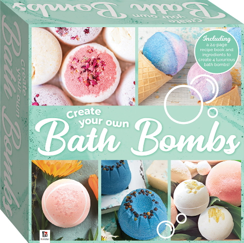 Create Your Own Bath Bombs