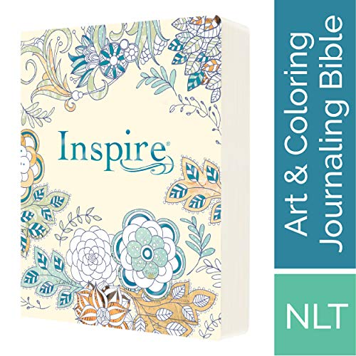 NLT Inspire: The Bible for Creative Journaling