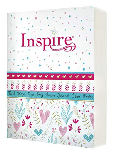 NLT Inspire for Girls: The Bible for Coloring & Creative Journaling