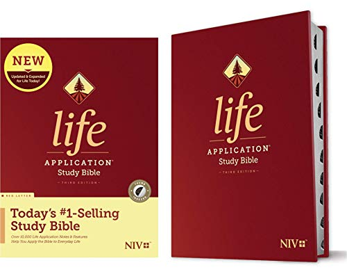 NIV Life Application Study Bible (Third Edition, Thumb Indexed)