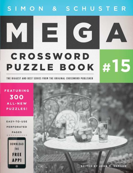 Simon and Schuster Mega Crossword Puzzle Book #15
