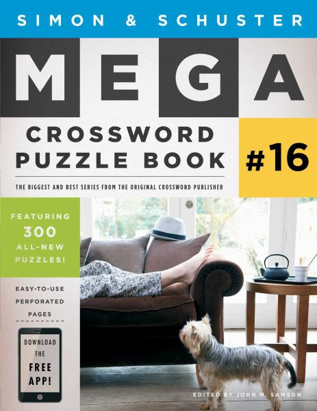 Simon & Schuster Mega Crosswor Puzzle Book # 16