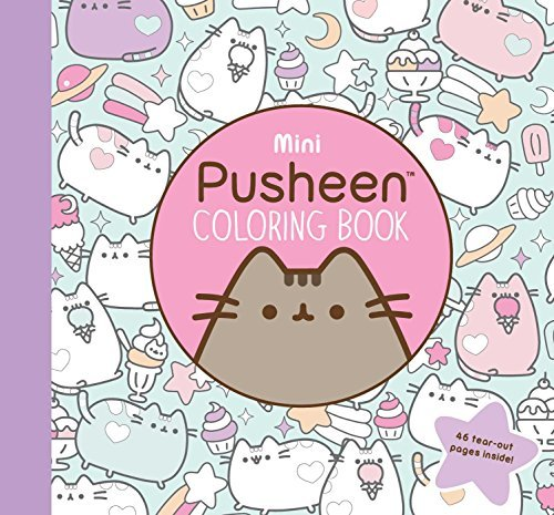 Mini Pusheen Coloring Book