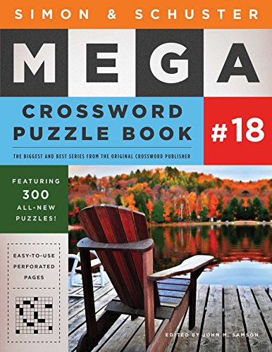 Simon & Schuster Mega Crossword Puzzle Book #18