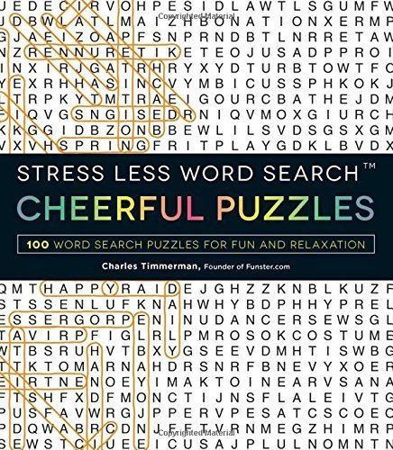 Cheerful Puzzles (Stress Less Word Search)