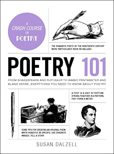 Poetry 101: From Shakespeare and Rupi Kaur to Iambic Pentameter and Blank Verse, Everything You Need to Know about Poetry (Adams 101)