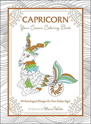 Capricorn: Your Cosmic Coloring Book