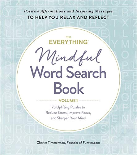 The Everything Mindful Word Search Book (Volume 1)