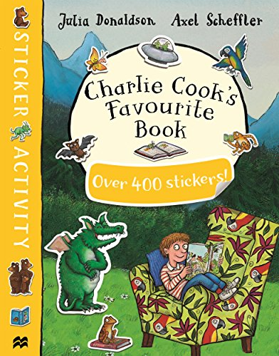 Charlie Cook's Favourite Sticker Activity Book