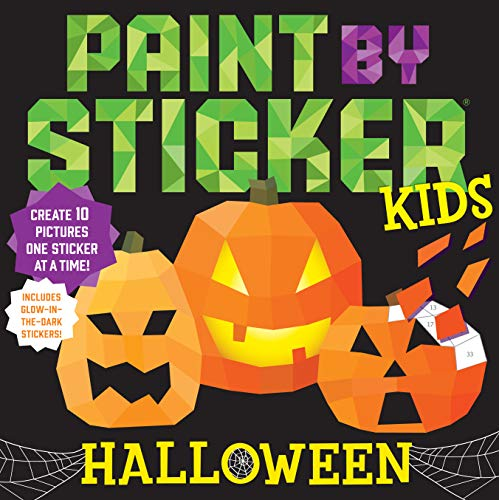 Halloween (Paint by Sticker Kids)