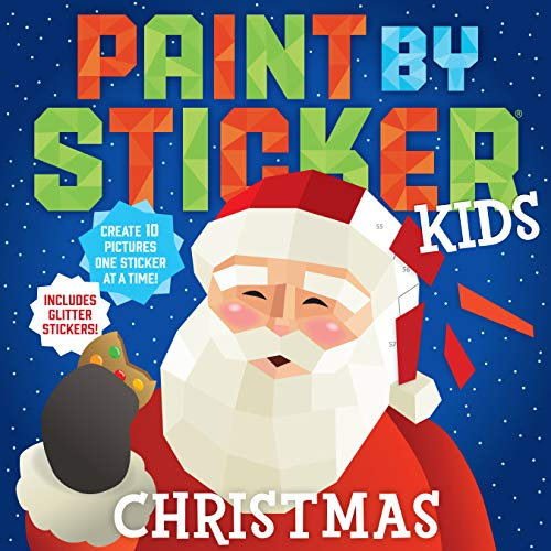 Christmas (Paint By Sticker Kids)